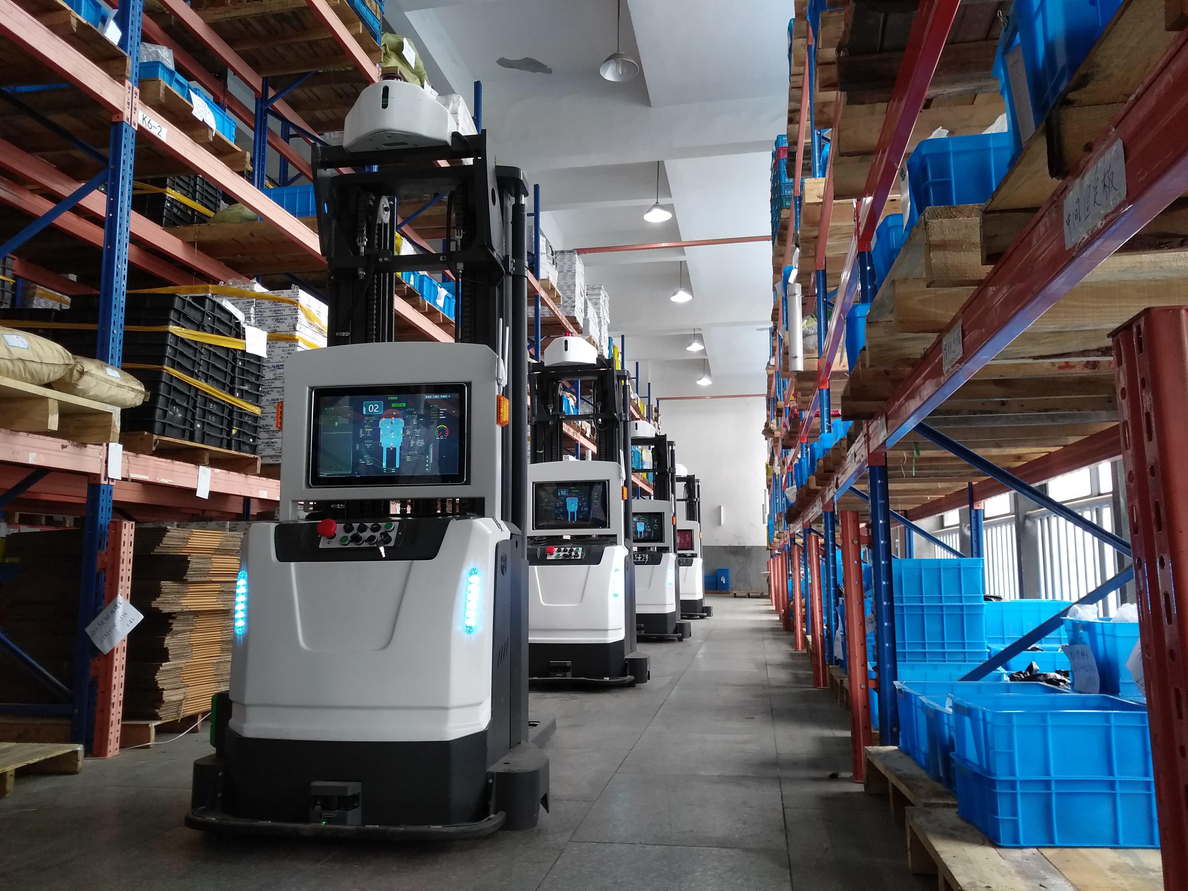 RFID工业读卡器AGV自动化运输解决方案的详细...