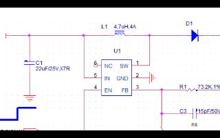 升壓IC之SX1308的SX1308應用電路圖與SX1308升壓電路圖