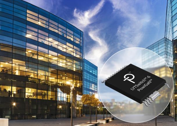 Power Integrations推出适合智能照明应用的新款LYT6078C驱动器IC