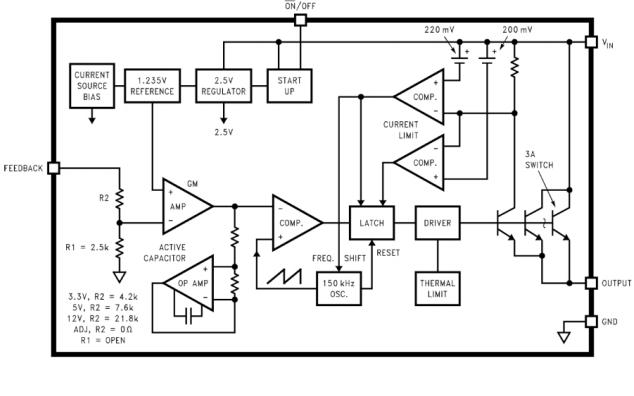 LM2596降压开关稳压器的英文原版数据手册