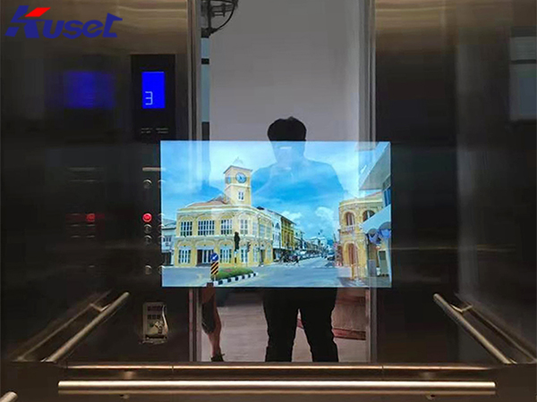 电梯显示器的应用,传媒与智能的完美结合
