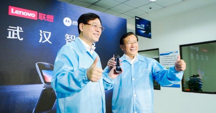 """联想武汉产业基地组装标杆产线""""量子线""""实现了高水..."""