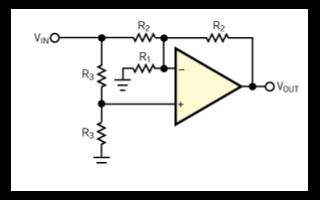 反相放大器和同相放大器的增益公式計算