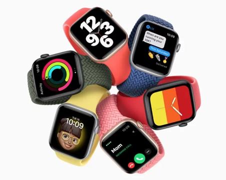 苹果新款智能手表搭载血氧浓度传感器,可显示血氧浓度