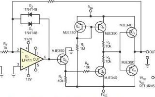 使用压电管的高压放大器驱动电路的设计