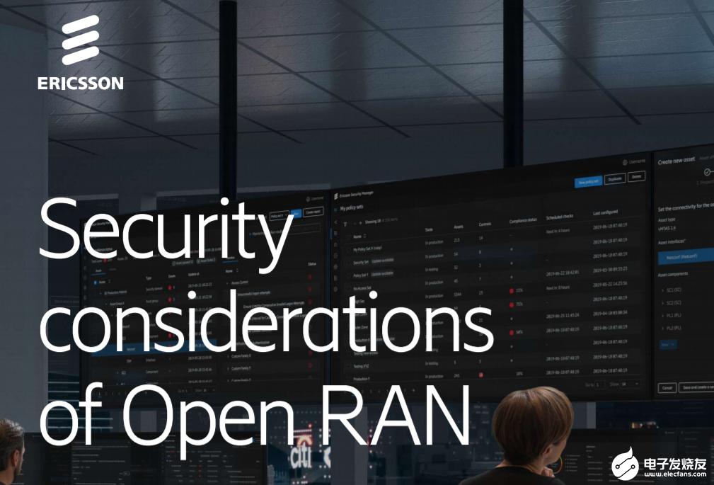 爱立信发布Open RAN技术的安全性白皮书,发...