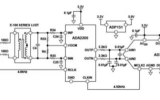 基于ADA2200同步解调◆器和AD设计@线性可变差分变压器信号调理电路