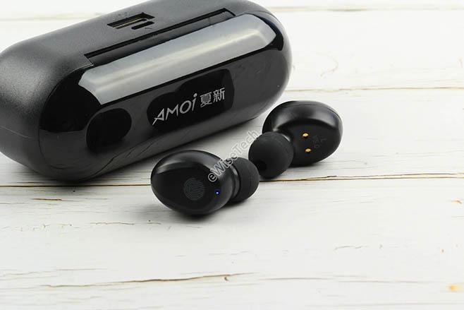 AMOI夏新F9怎么样?真无线耳机拆解 可给手机充电