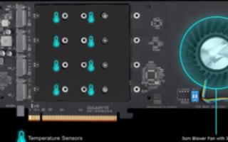 技嘉推出新款AORUS Gen4 AIC SSD...