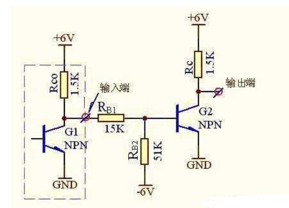 三极管的反相器电路