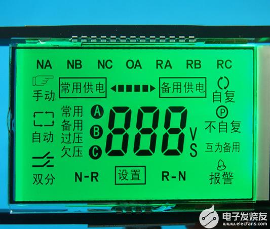 LCD段碼屏字看不清,這是什麼原因造成的