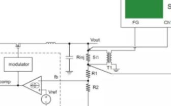 使用MDO系列示波器進行環路響應測試