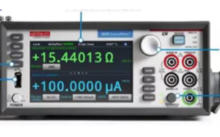 吉時利2450系列觸摸屏數字源表的功能特點及應用分析