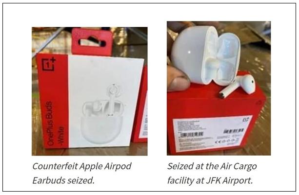 以假冒苹果扣押一加耳机,美国海关声称并未做错拒不...