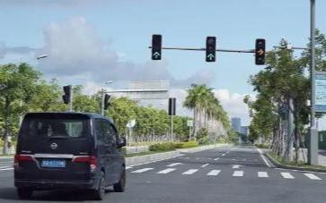 这一段7公里智能驾驶示范段计划开启第二阶段的测试