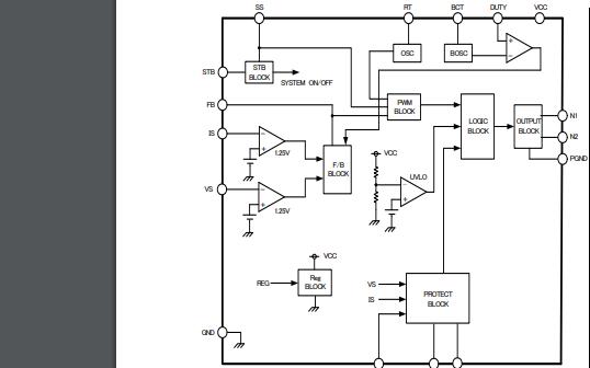 BD9893F DCAC逆变控制IC的数据手册免费下载
