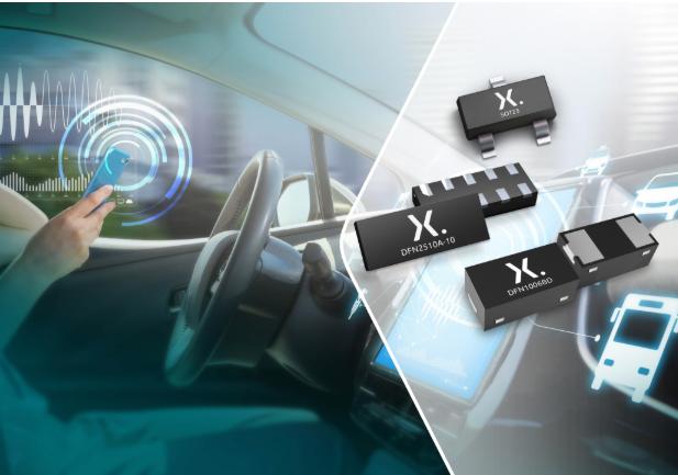 Nexperia推出四款全新兼具高信号完整性的TrEOS ESD保护器件