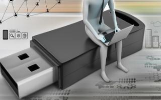 USB接口各引脚的功能