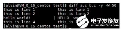 Linux操作环境:diff实现文本比对方法