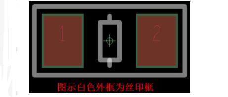 PCB封装时丝印框与焊盘的间距是多少