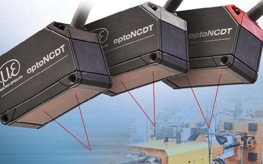 Micro-Epsilon的激光三角测量传感器为位移和距离测量设定了新标准