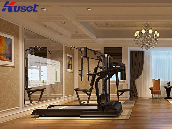 智能健身房引流黑科技,一起感受健身房智能魔镜