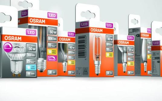 朗德万斯正在推出OSRAM品牌LED产品的无塑料包装