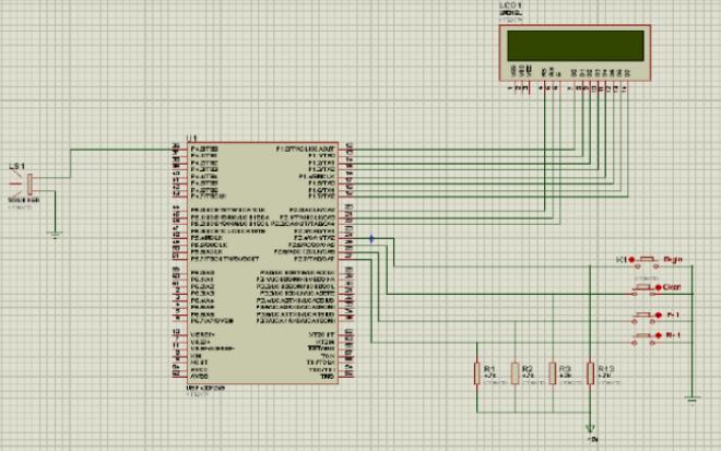 使用MSP430单片机实现多功能定时器的论文说明