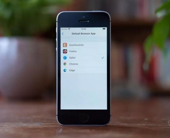 iOS 14更新:替代Safari浏览器的第三方软件仅有四款