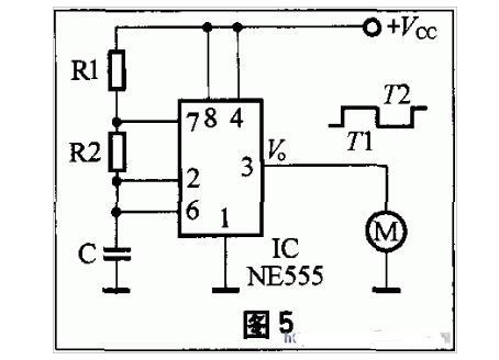 555多谐振荡器电路原理
