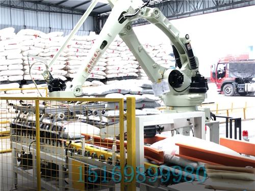 碼垛機器人在流水線生產中的應用,它的特點是什么