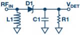 基于二極管的分立式RF檢波器