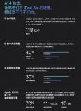 没有华为竞争苹果A14 Bionic处理器会是最强手机芯片