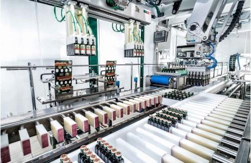 Jägermeister采用TLM 系统推出多功能顶载式包装机(TLM)的解决方案