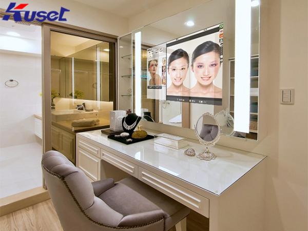 智能化妆镜的应用,满满的黑科技带来了新体验