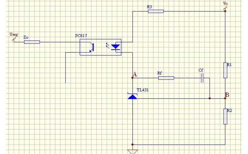 TL431搭配光耦的传函技术资料说明