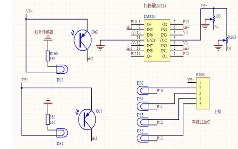 使用MC9S12XS128MAL芯片與51單片機設計智能車的2個方案說明