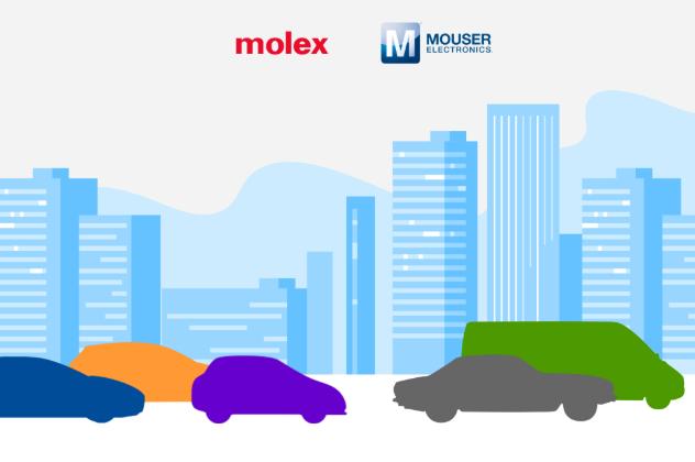 贸泽电子与Molex联手打造汽车技术数字智库