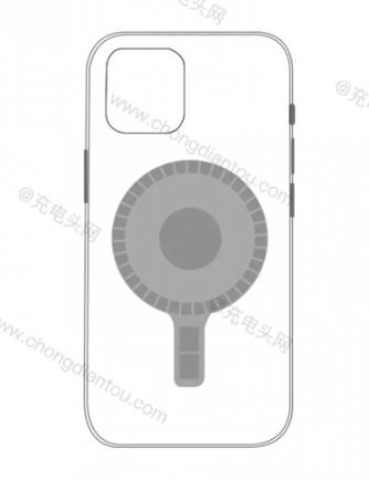 iPhone12磁吸无线充电器模块曝光 无线充电...