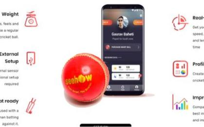 印度公司SeeHow将传感器内置于板球和球棒中
