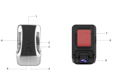 安培行车记录仪G500使用说明书