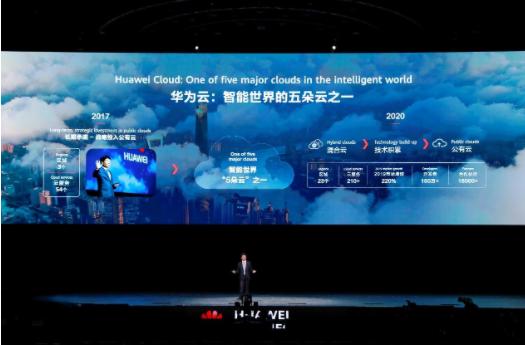 HUAWEI:5G和AI正在引领政府和企业进入智能化时代