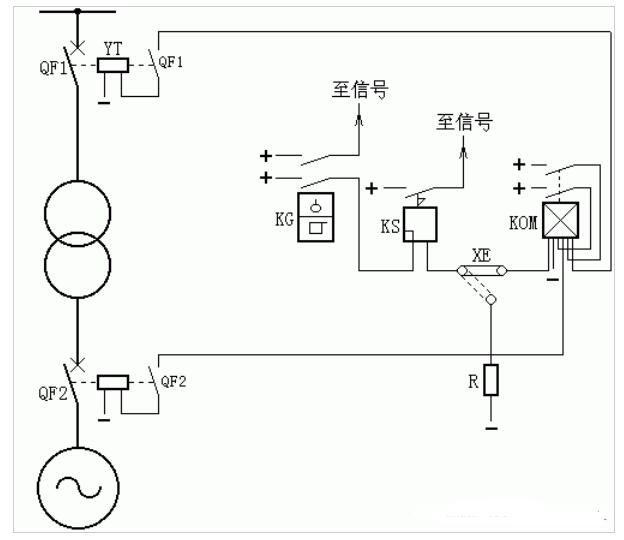变压器瓦斯维护的构成原理