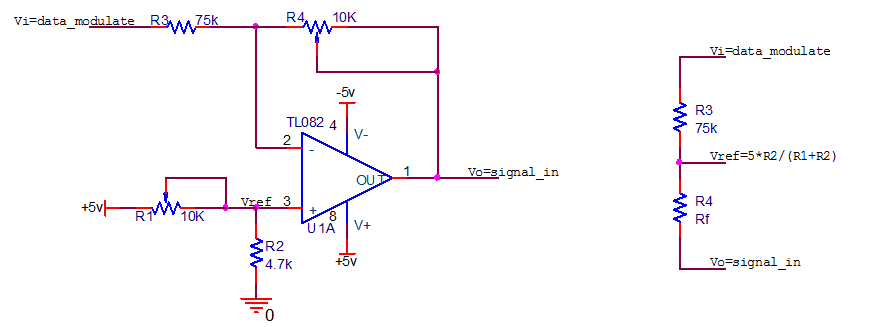 通信系统中电平/幅度调整电路图解析
