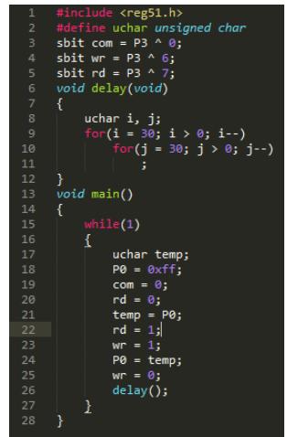 并行I/O口扩展的2种方式实例介绍