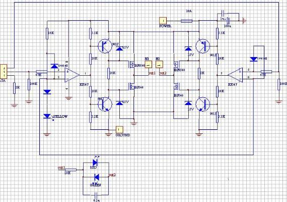 LM339在场效应管输出部分与栅极驱动部分的区别