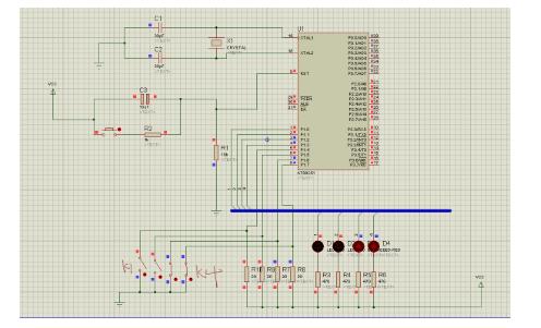 控制LED灯的亮灭的2种开关检测方案