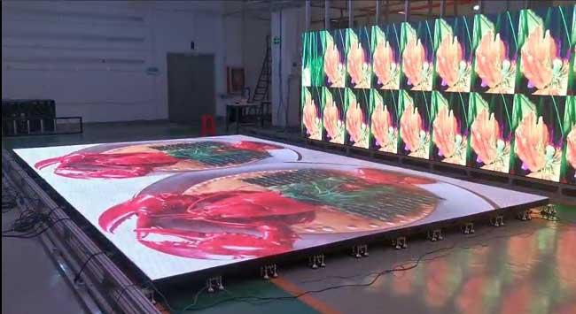 led互动感应地板是什么,它的特色是什么
