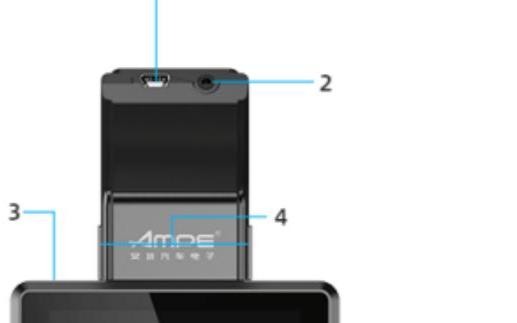 安培行车记录仪G520使用说明书