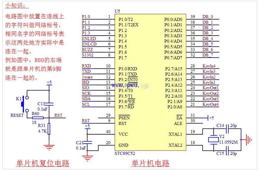 单片机最小体系电路原理